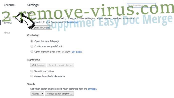 PDFConverterHQ Chrome settings