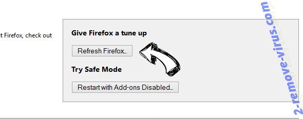 Betonethathadfa.pro Pop-ups Firefox reset