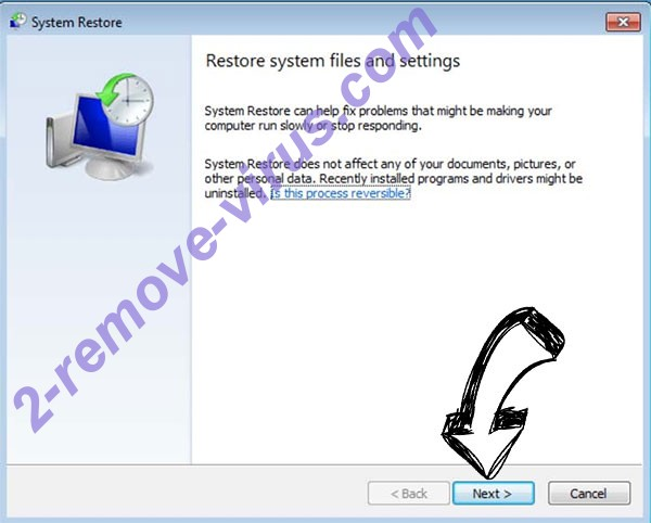 Get rid of Godes Ransomware - restore init