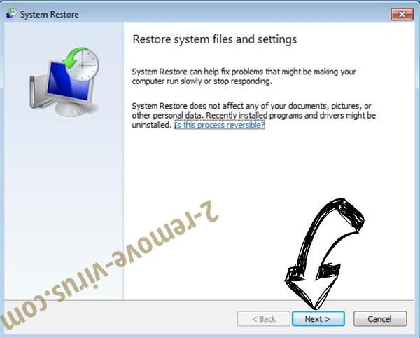 Get rid of [Savemydata@qq.com].harma ransomware - restore init