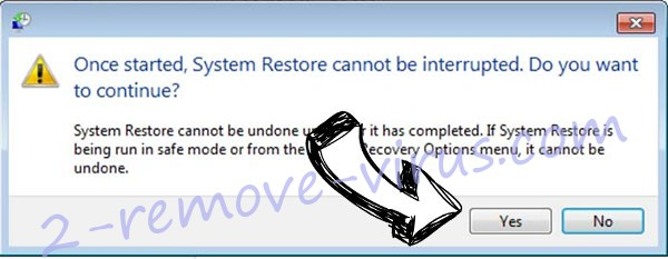 .777 extension virus removal - restore message