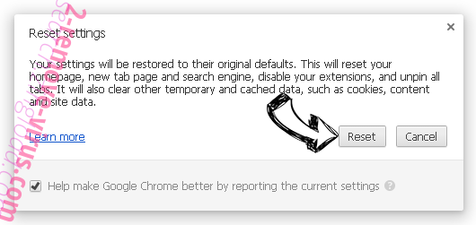 Thehugejournal.com Ads Chrome reset