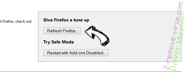 SideCubes Search Firefox reset