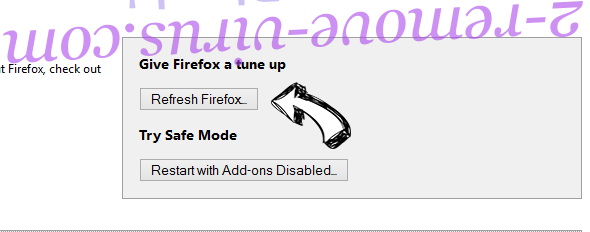 Cutbacked.space Firefox reset