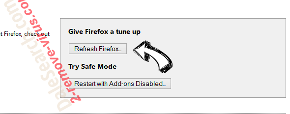 GoIncognitoSearch Firefox reset