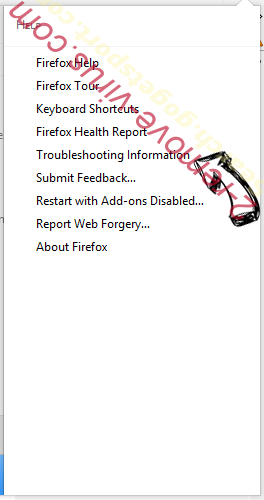 Nfgmyassion.top pop-up ads Firefox troubleshooting
