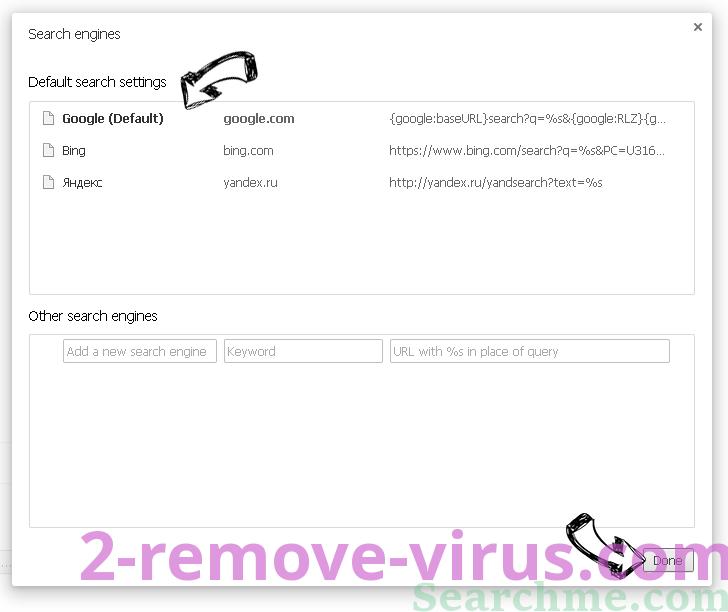 Serch16.biz Chrome extensions disable