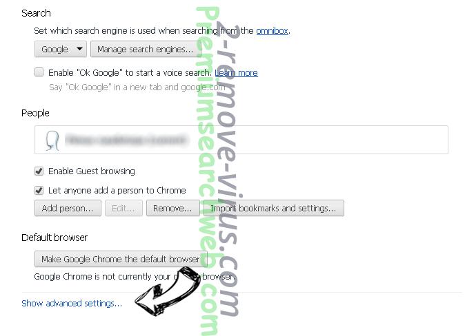Safe.v9.com Chrome settings more
