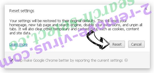 Optimalsearch.me Chrome reset