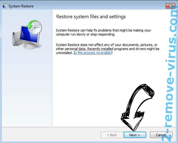 Get rid of LONDEC ransomware - restore init