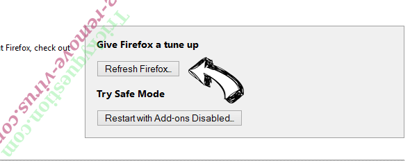 Searcreetch.com Firefox reset