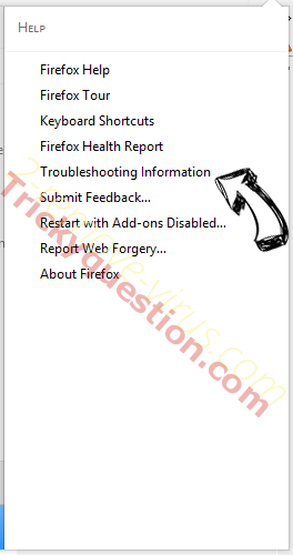Searcreetch.com Firefox troubleshooting