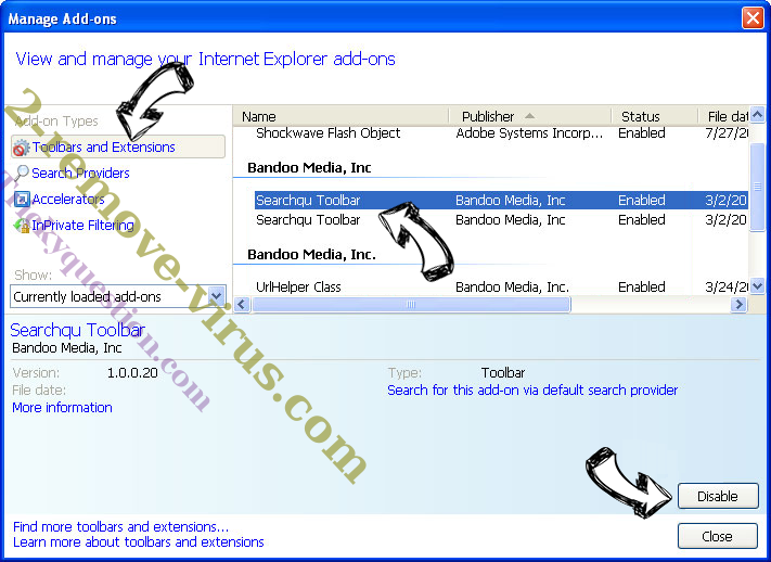 MyPDFConverter IE toolbars and extensions