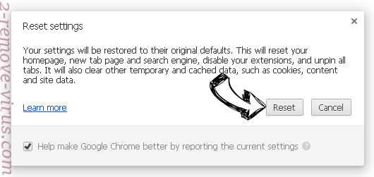 My1trk.com Chrome reset