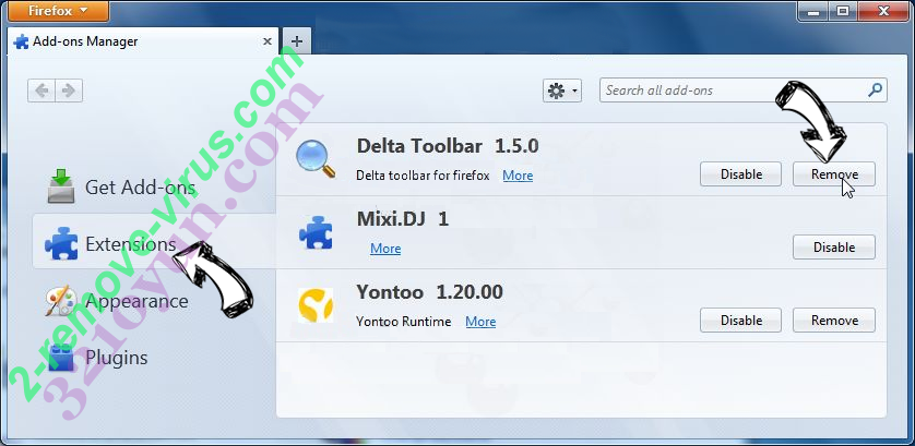 Trotux.com Firefox extensions