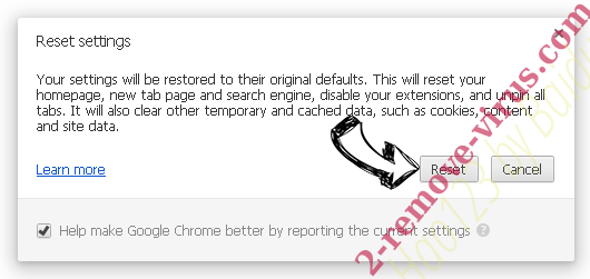 Topernews.me Chrome reset