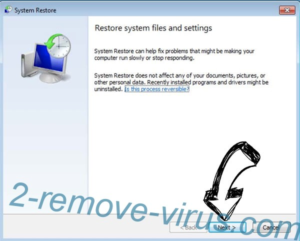 Get rid of Masodas extension virus - restore init