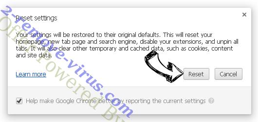 FluBot Malware Chrome reset