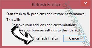 FluBot Malware Firefox reset confirm