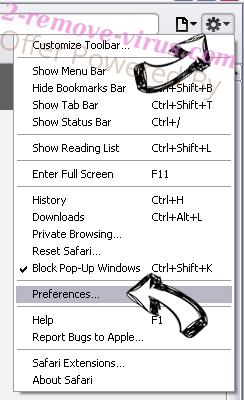 FluBot Malware Safari menu