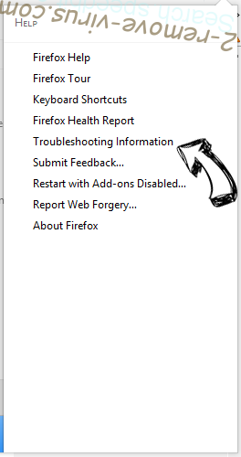Pushwelcome.com Firefox troubleshooting