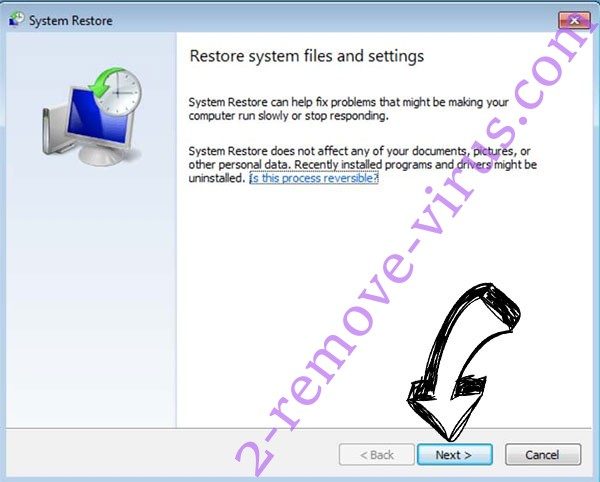 Get rid of .Pack14 file virus - restore init