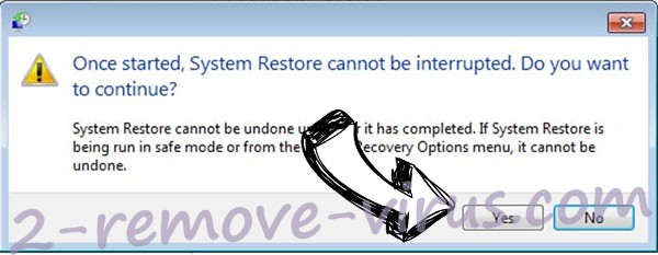 GERO extension virus removal - restore message