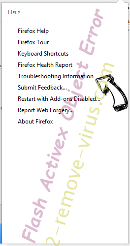 RecipeSearch Firefox troubleshooting