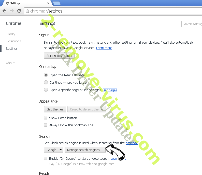 Auratab Hijacker Chrome extensions disable