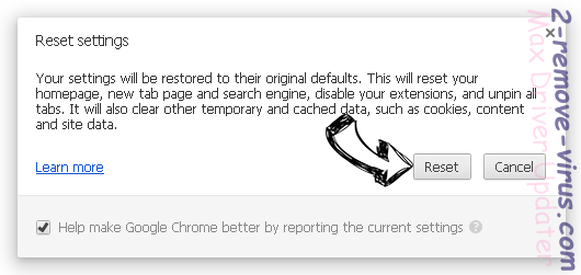 ConvertSearch Chrome reset