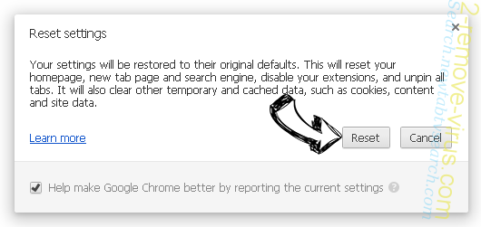 Gosearch7 Chrome reset