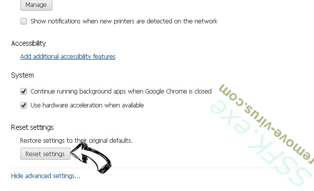 Voice Saying 'Virus Found' POP-UP Scam (Mac) Chrome advanced menu
