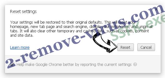 Voice Saying 'Virus Found' POP-UP Scam (Mac) Chrome reset
