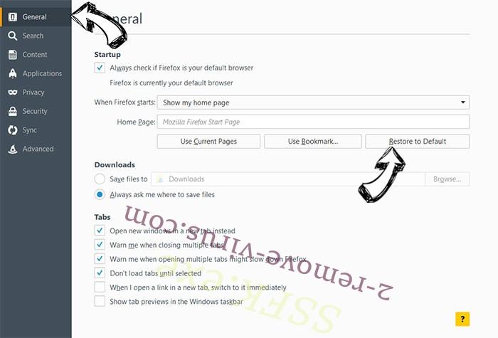 Voice Saying 'Virus Found' POP-UP Scam (Mac) Firefox reset confirm