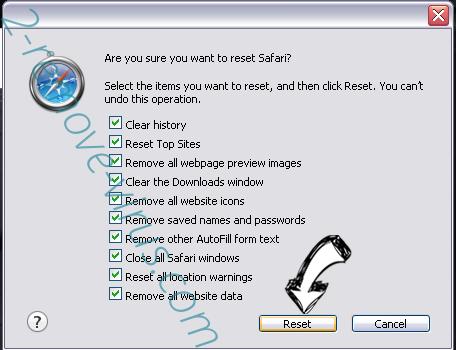 Voice Saying 'Virus Found' POP-UP Scam (Mac) Safari reset