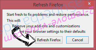 ConvertMySearch Firefox reset confirm