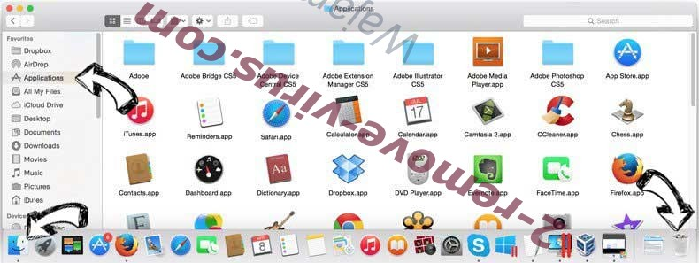 Search.gilpierro.com removal from MAC OS X