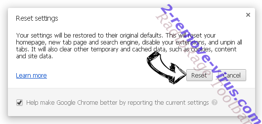 NetModuleSearch Chrome reset