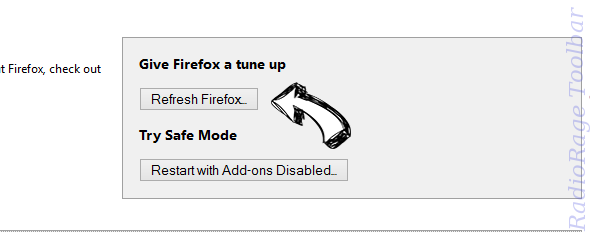 ElementaryMethod Firefox reset