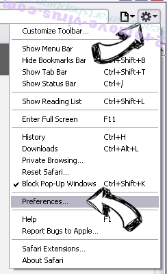 Free PDF Viewer for Windows Safari menu