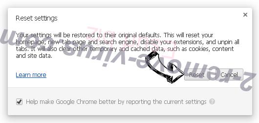 Read-before-the-rest.com Ads Chrome reset