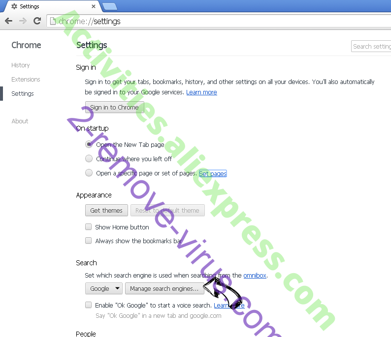 ConverterSearchNow Chrome extensions disable