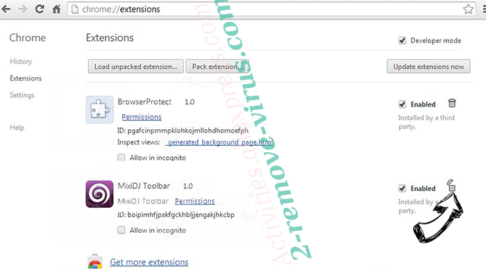 ConverterSearchNow Chrome extensions remove