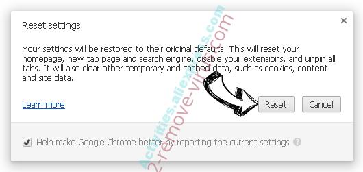 ConverterSearchNow Chrome reset