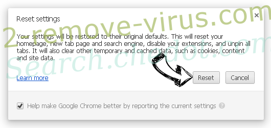 MovieSearches Chrome reset