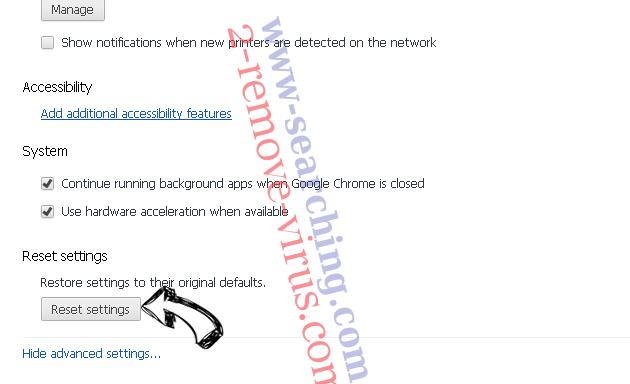 MacShiny Unwanted Application Chrome advanced menu