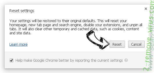 MacShiny Unwanted Application Chrome reset