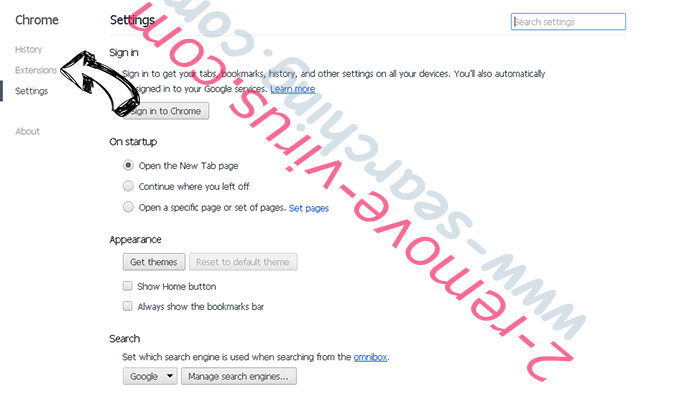 MacShiny Unwanted Application Chrome settings