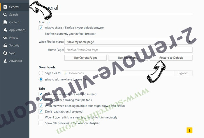 MacShiny Unwanted Application Firefox reset confirm
