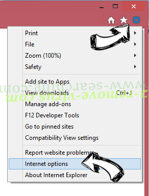 MacShiny Unwanted Application IE options